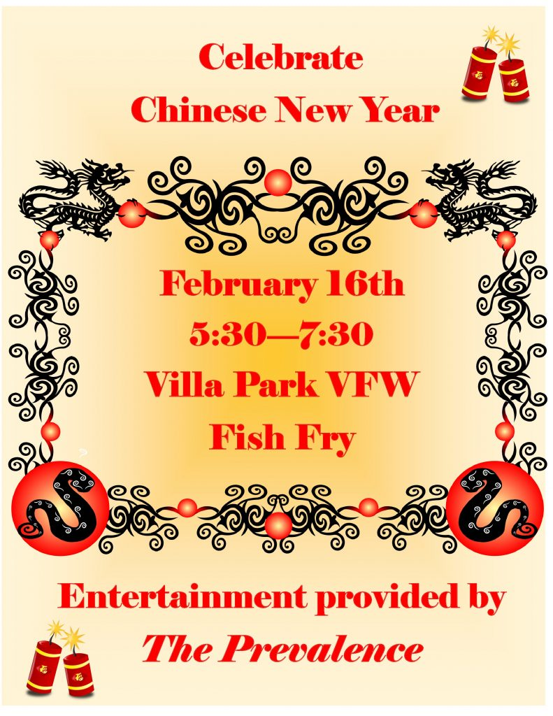 Chinese new year fish fry vfw post 2801 for Vfw fish fry